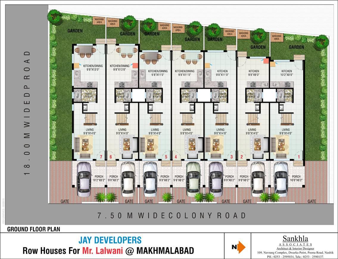 Row house house plans