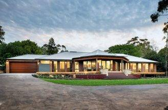 Rural Building Company Designed Built Captivating Home