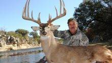 Russell Abendroth Whitetail Non Typical High Fence Region Menard