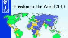 Russia Freedom World Map House