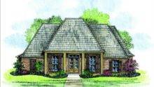 Rustic Acadian House Plan Plans Floor Source