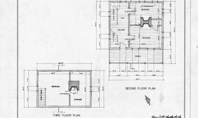 Second Third Floor Plans John Manson House Beaufort North