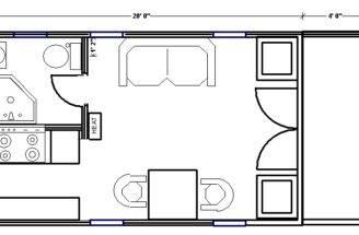 Second Unit Guest House Little Trailer Petaluma