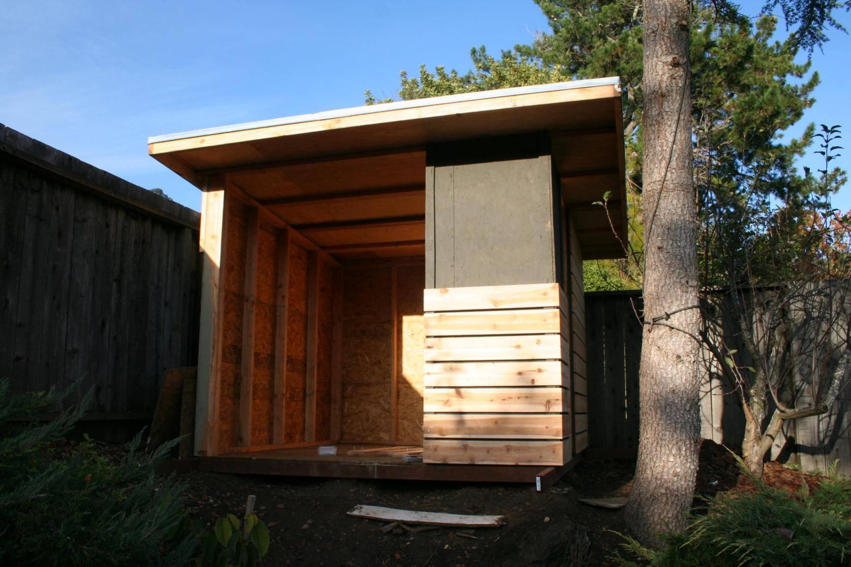 ^ Secret Selecting Modern Shed Diy Plans - Home Building Plans #17732