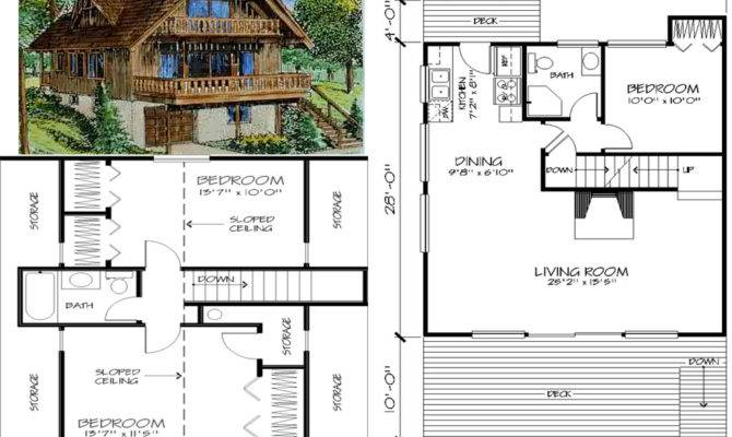 Seen Chalet Home Plans Designs Homeplans