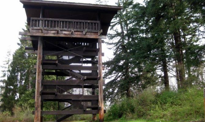 Sehome Arboretum Observation Tower