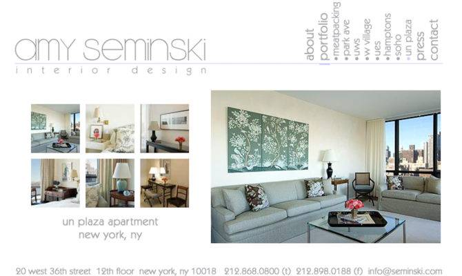 Seminski Interior Design Website Scott Larsen Photography