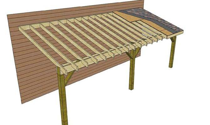 Shed Roof Framing Plans Project Calculator Planbuildww