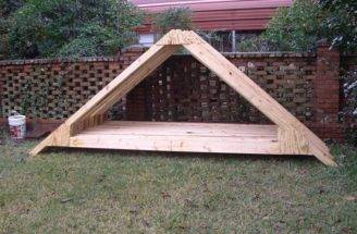Shed Roof Truss Design Blueprints Howtodiy
