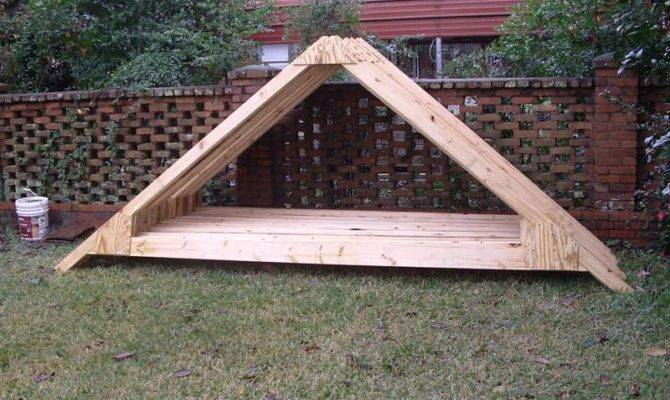 Shed Roof Truss Design Blueprints Howtodiy