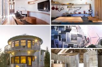 Silo Homes Pinterest