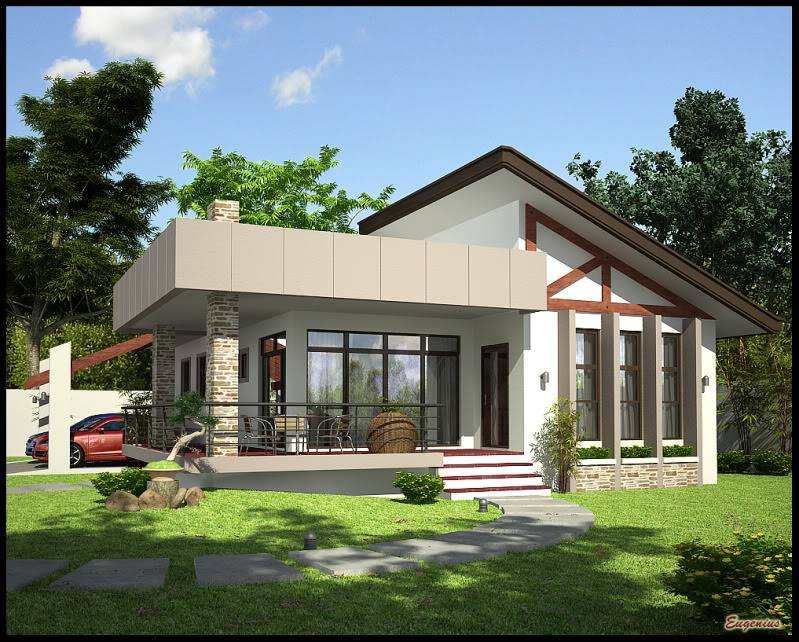 Simple Bungalow Home Building Plans 85256