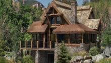 Simple Cabin Plan Floor Plans Design