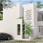 Simple Contemporary Modern House Kerala Home Design Floor Plans