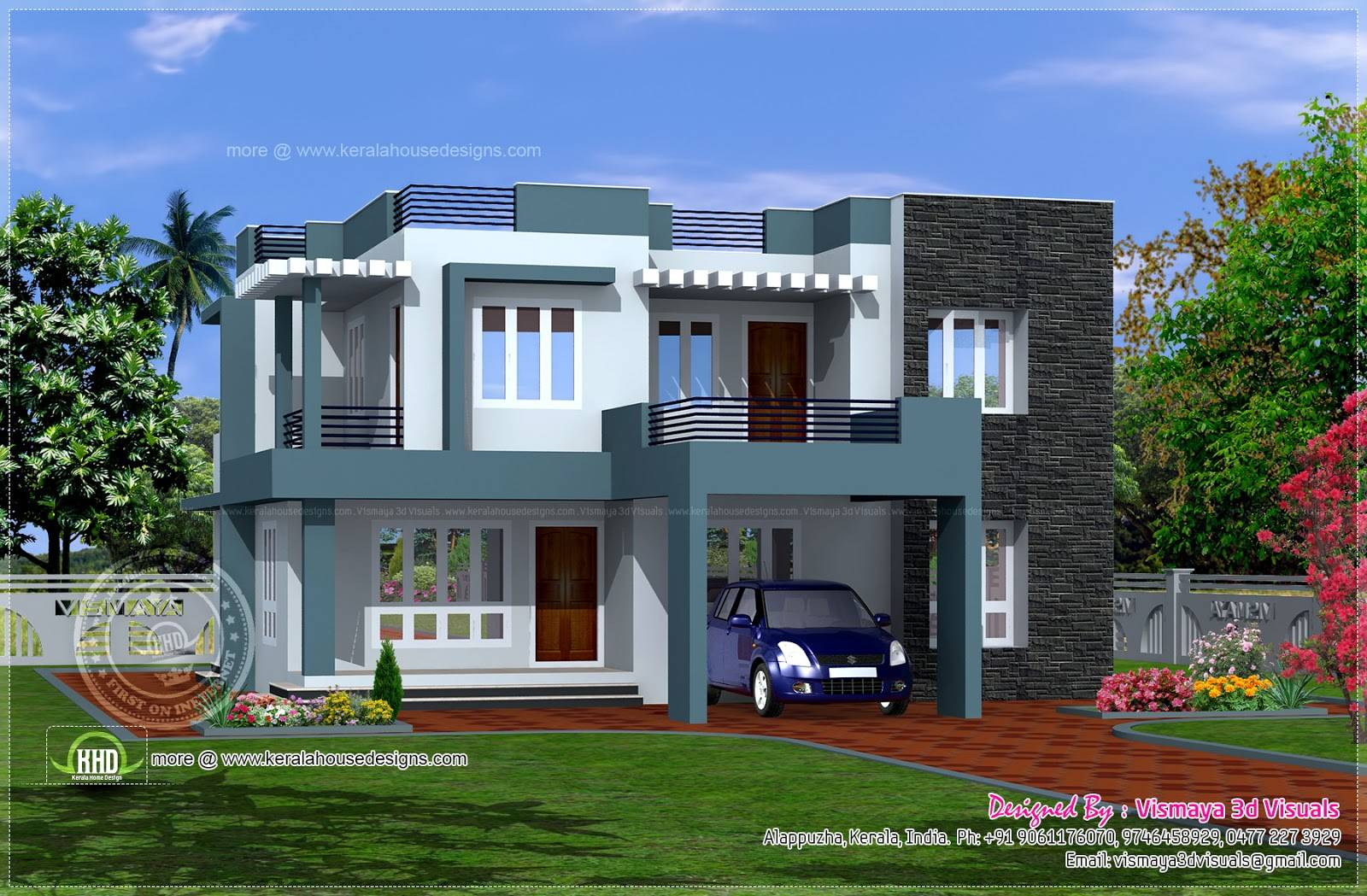 modern simple building plans with photos of the houses Modern House