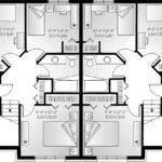 Simple Duplex House Plans Joy Studio Design Best
