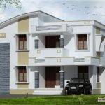 Simple Flat Roof Home Design Feet Kerala Plans
