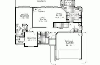 Simple Floor Plans Houses Ranch House