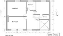 Simple House Plan Ground Floor