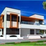 Simple House Plans Flat Roof Lrg