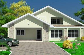 Simple Modern Big New Ghana Homes Plans