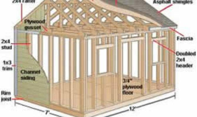 Simple Shed Plans Building Your Own Outdoor Sheds
