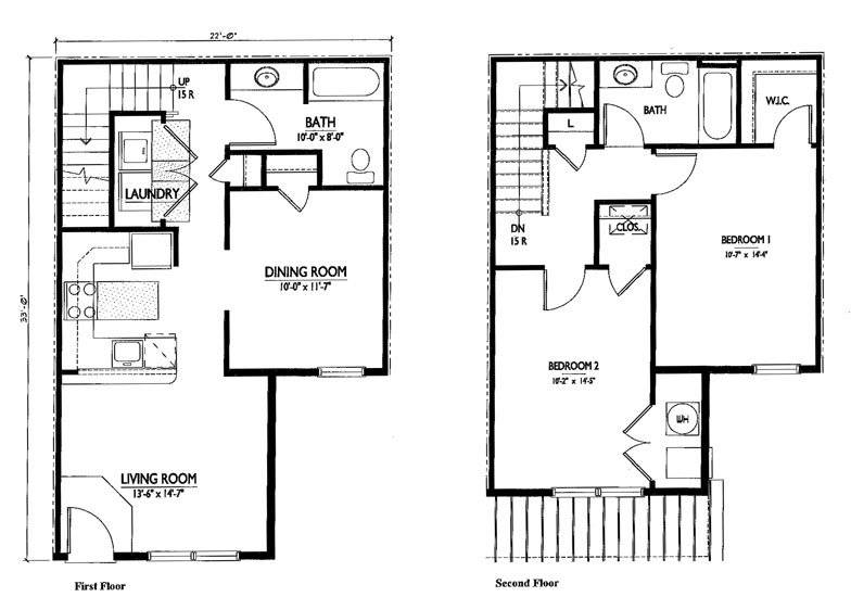double storey houses plans escortsea storey free download home - Simple Floor Plans