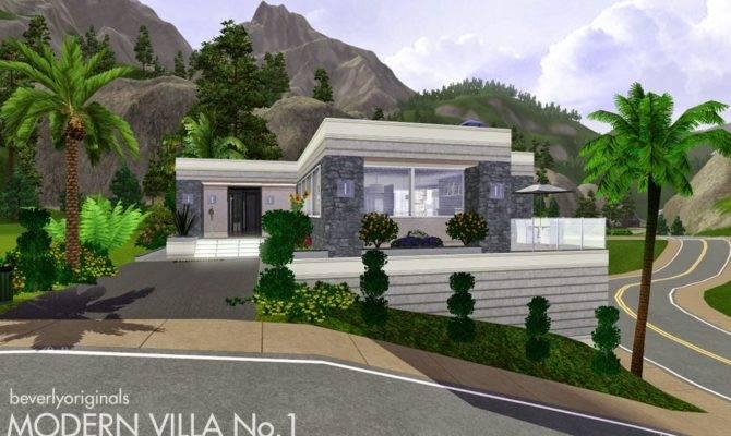 Sims Blog Modern Villa Beverly