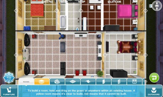 Sims Freeplay Floor Plans Bedrooms