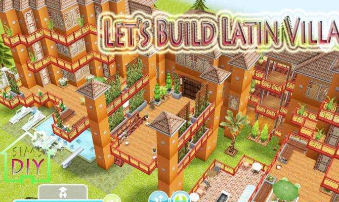 Sims Freeplay House Floor Plans Let Build Latin Villa