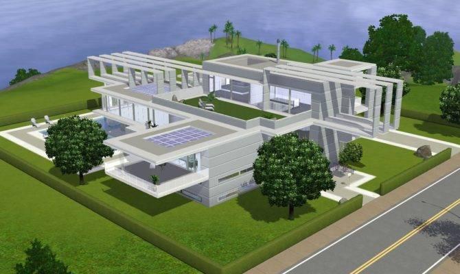 Sims Future Modern Villa Ramborocky Deviantart