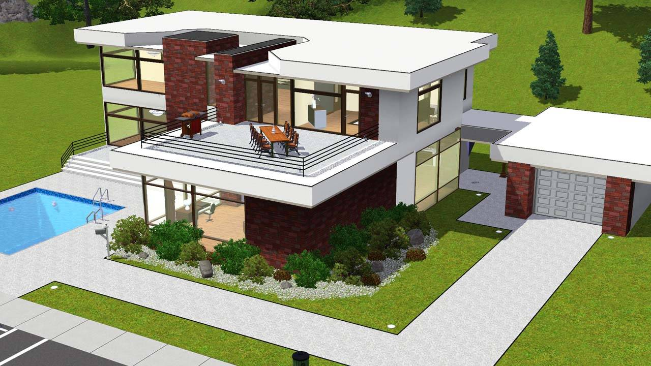 Stunning Sims Home Design Gallery Interior Design for Home