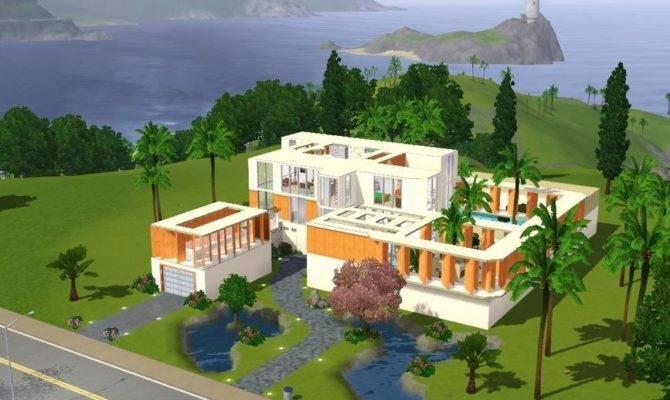 Sims House Designs Modern Villa
