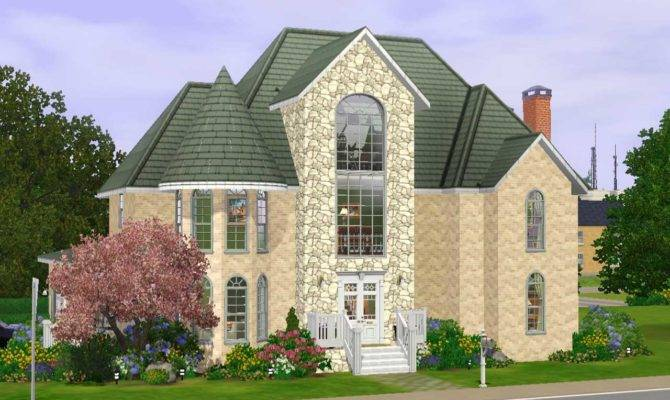 Sims House Plans Bedrooms Lot