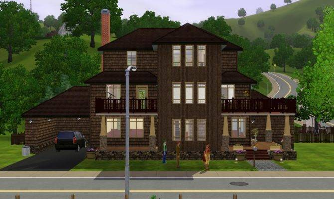 Sims House Plans Floor Plan