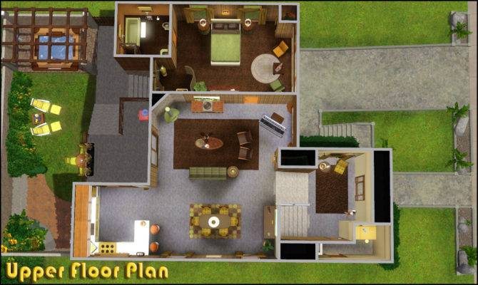 Sims House Plans Mod Retro Realty