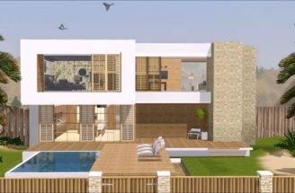 Sims Houses Displaying