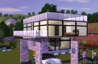 Sims Modern House Source Brothergames