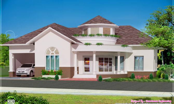 Single Floor Bed Room Villa Kerala Home Design Plans