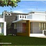 Single Floor Contemporary House Design Kerala Home