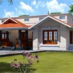 Single Floor Feet Home Design Kerala