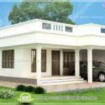Single Floor House Models Flat Roof Storey Home