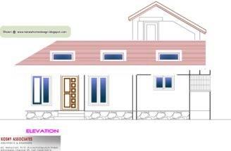 Single Floor House Plan Home Appliance