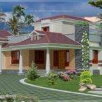 Single Floor Style Square Feet Home Design Kerala