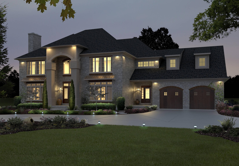 designer homes exterior single story