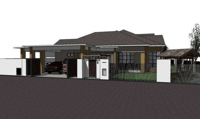 Single Storey Bungalow House Plans Joy Studio Design Best