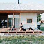 Single Storey Bungalow Organized Around Central Living Area