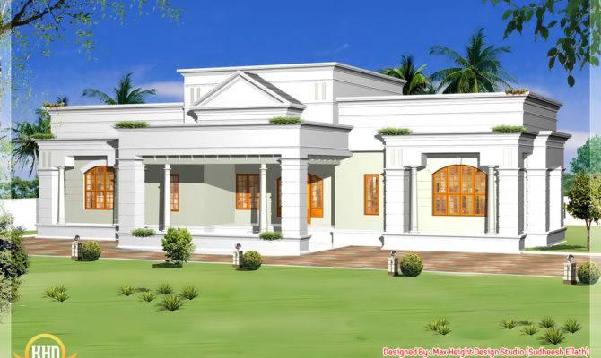 Single Storey Home Design Floor Plan Kerala