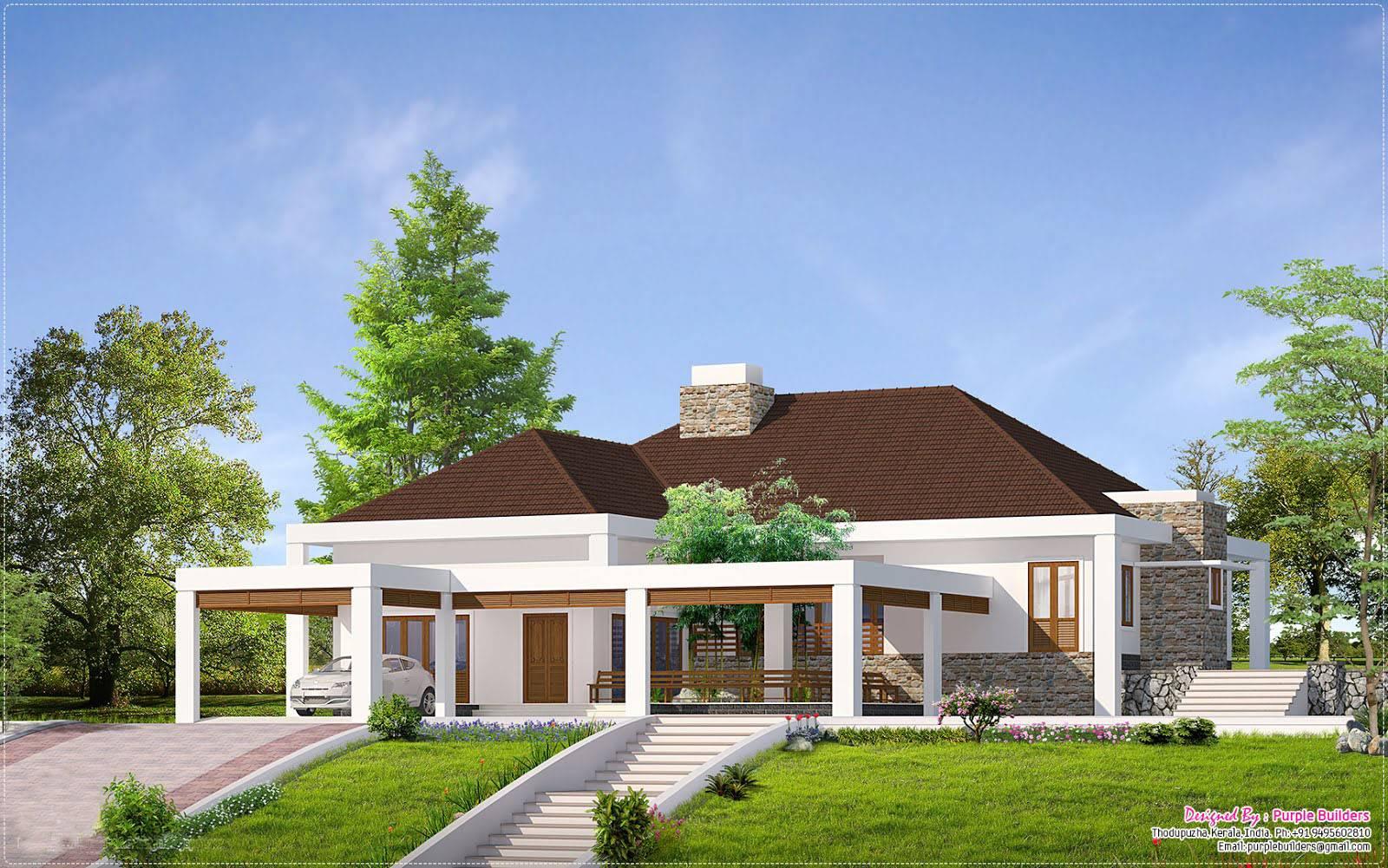 Beautiful Single Storey Home Designs