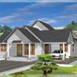 Single Storey Like Double Floor Home Design Kerala